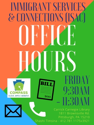 ISAC Office Hours Posters